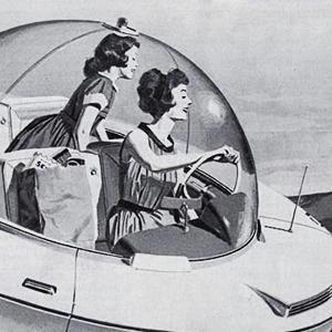 Как представляли  автомобиль будущего  в 1957-м