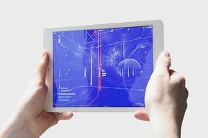 Wi-Fi и сотовую связь вокруг человека изобразили на iPad