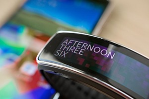 Samsung Gear Fit поступит в продажу в пятницу