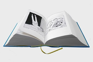 Иллюстратор издал 3,5-килограммовую книгу с 2 500 рисунками