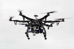 В США произведена первая доставка с дроном