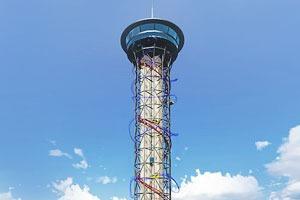 Видео: самые высокие американские горки