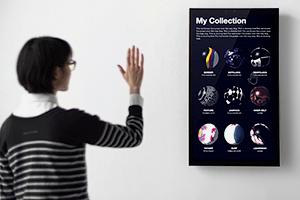 Интерактивный «постер» японского дизайн-бюро покажет диджитал-арт