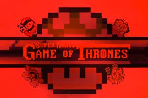 Опенинг «Игры престолов» переделали в стиле Super Mario World