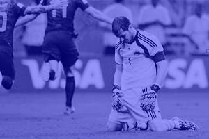 В The Guardian запустили тумблог про грустных футболистов