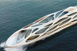 Заха Хадид разработала дизайн яхт Blohm+Voss