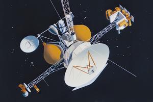 Все снимки Cassini собрали в одном видео