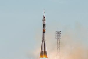 ESA выложила таймлапс с запуском «Союза» с Байконура