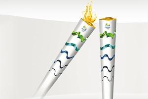Бразилия показала дизайн факела для Олимпиады 2016 года