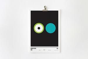 Концепт: постеры к фильмам только из кругов
