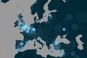Твиты об iPhone 6 и Apple Watch собрали на интерактивной карте