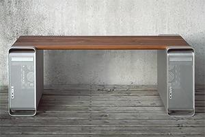 Дизайнер создал мебель из компьютера Apple