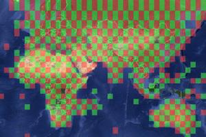 Инфографика показывает столетнее изменение климата на Google Maps