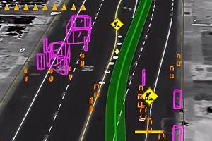 Google показала работу беспилотного автомобиля на городских улицах