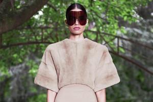 Кутюр в деталях: Маски, бисер и кожа в коллекции Givenchy
