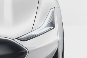 В Китае показали похожий на Tesla Model S электромобиль