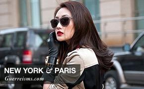 City Looks: Нью-Йорк и Париж