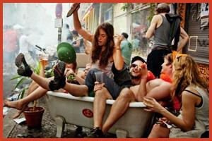 Дневник из Берлина: Пляжи в городе, велосипедные гонки, биеннале и свобода
