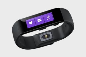Microsoft показала свой фитнес-трекер