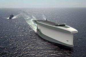 Разработана концепция корабля-паруса