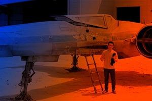 Джей Джей Абрамс показал X-Wing из седьмого эпизода «Звёздных войн»