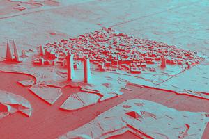 На 3D-принтере распечатали модель Бахрейна из бумаги