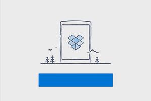 Dropbox показал приложение в материальном дизайне