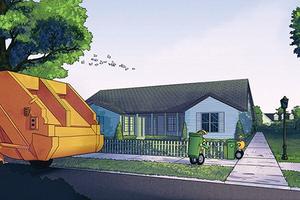 В Volvo создадут роботов-мусорщиков