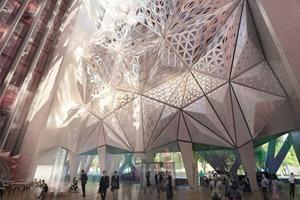 Заха Хадид представила проект скульптурного отеля