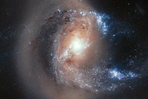 Фото дня: столкновение двух галактик