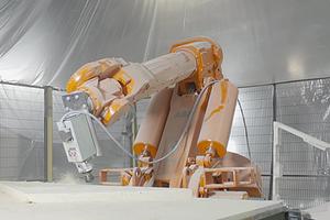 В Роттердаме робот помог возвести деревянный павильон