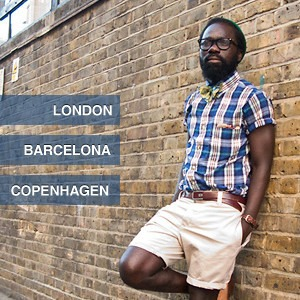 City Looks: Барселона, Копенгаген и Лондон