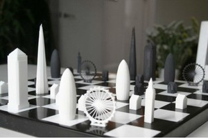 В сети собирают деньги на архитектурные шахматы