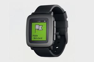 Новые часы Pebble стали самым успешным проектом на Kickstarter