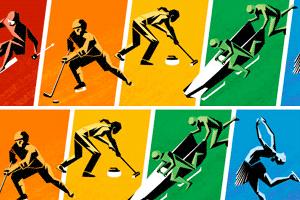 «Олимпийский» дудл критикует запрет гей-пропаганды в России