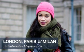 City Looks: Лондон, Париж, Милан