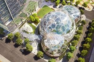 Amazon построит биокуполы в Сиэтле