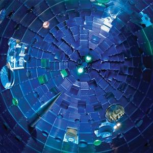 Как выглядит комплекс с самыми мощными лазерами в мире