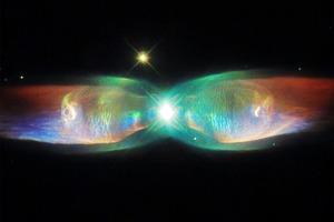 Фото дня: облака газа в туманности «Крылья бабочки»