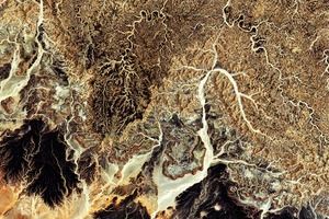Фото: Алжирская пустыня из космоса