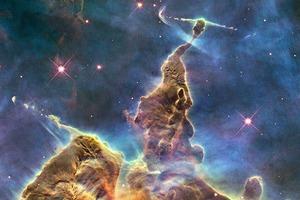 Видео: туманности в 3D на основе фото Hubble