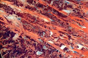 Астронавт выложил абстрактные фотографии Австралии с орбиты