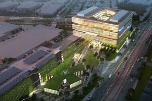 В сети представлен проект кампуса Samsung в Кремниевой долине