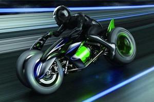 Kawasaki показала мотоцикл будущего