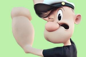 Sony показала тестовую анимацию 3D-версии «Попая»