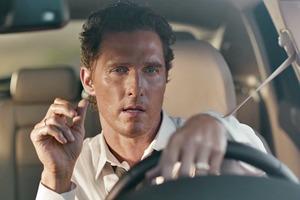 Мэттью Макконахи снялся в рекламе Lincoln в стиле «Настоящего детектива»