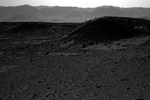 Curiosity запечатлел на Марсе загадочное свечение