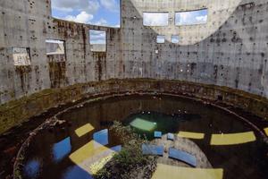 Фотограф снял таймлапс в градирне недостроенной АЭС