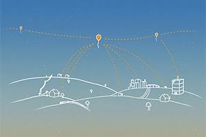 Google начнёт раздавать интернет с воздушных шаров в 2015 году