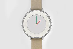 Pebble представила часы с круглым циферблатом